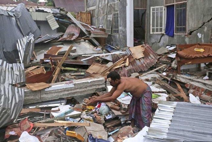 जापानको आओमोरीमा भूकम्प