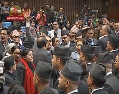 नेपाली कांग्रेसकी सभासद पुष्पा भुषालले बोलेर सक्ने बित्तिकै यस्तो भयो सदनमा (हेर्नुहोस् भिडियो)