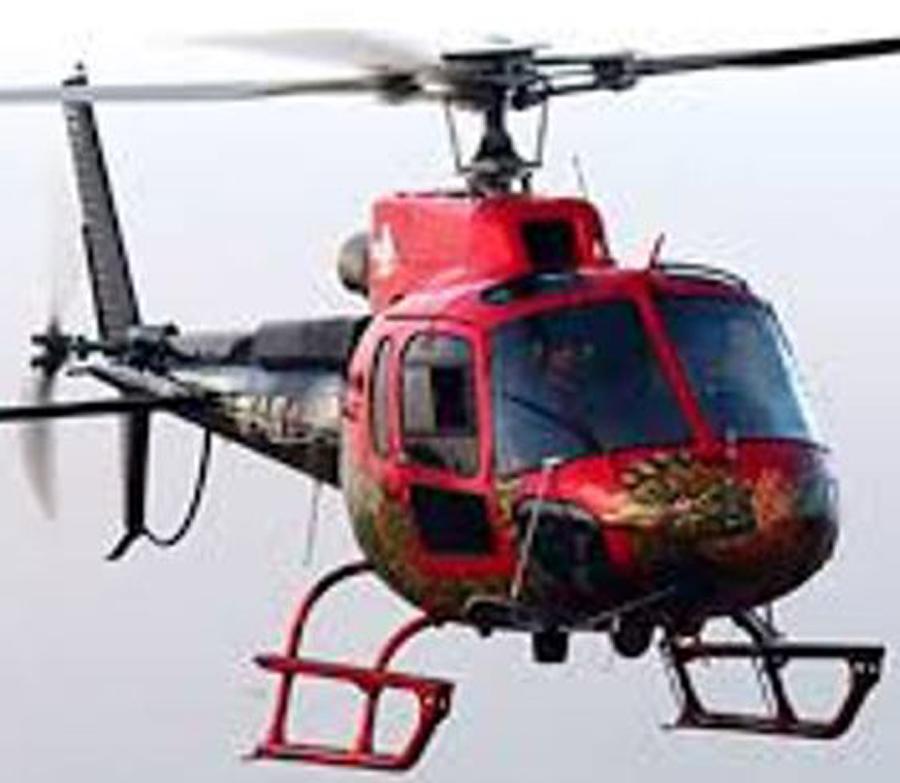 दुर्घटनाका घाइतेलाई हेलिकप्टरमार्फत उद्धार