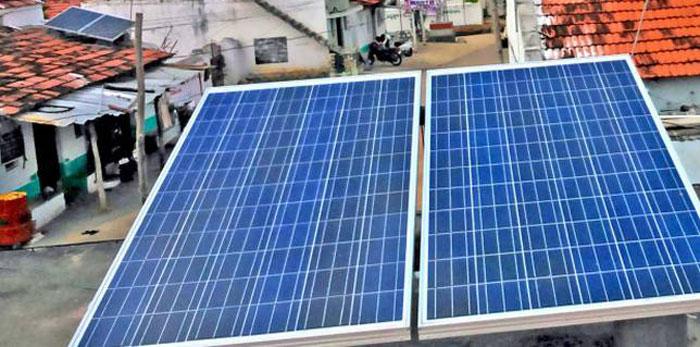 अतिविपन्नलाई सौर्य उपकरण वितरण