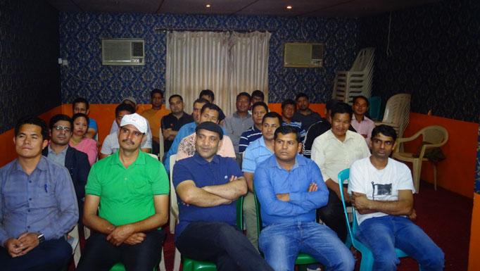 कतार नेपाली समाजको स्वागत कार्यक्रम सम्पन्न