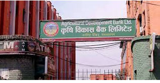 कृषि विकास बैंकको नाफा रु ५७ करोड