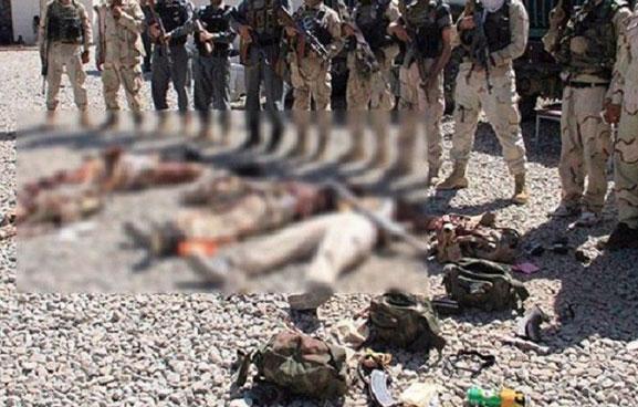 कारबाहीको क्रममा सोह्र तालिबान लडाकू मारिए