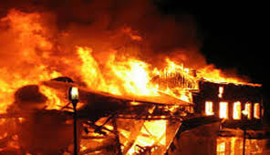 अज्ञात समूहद्वारा वडा कार्यालयमा आगजनी