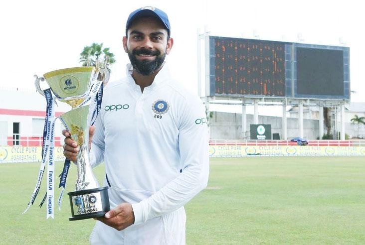 कप्तान विराट कोहलीले पोस्ट गरे यस्तो फोटो, जसका कारण गुम्यो बल्लेबाजको ताज
