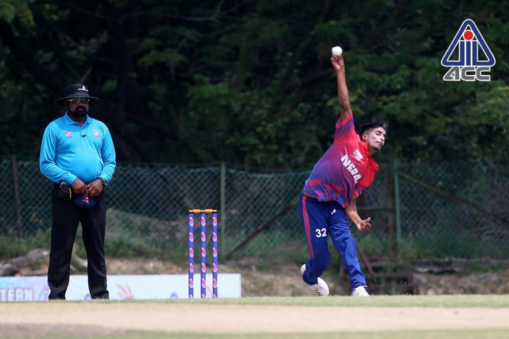 नेपालद्वारा बङ्गलादेशलाई २६२ रनको चुनौती  –एशिया कप