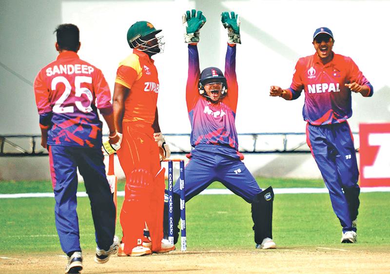 नेपाल विरुद्ध टेस्ट राष्ट्र जिम्बावे, पहिलो टि–२० पूर्वावलोकन