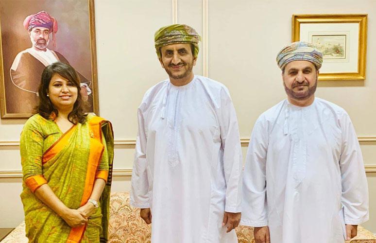 नेपाली राजदूत ढकाल र  ओमानका परराष्ट्र सचिववीच भेटवार्ता