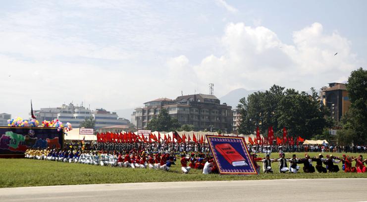 यसरी मनाइयो टुँडिखेलमा संविधान दिवस