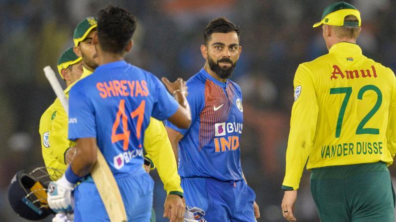 तेस्रो टि–२०मा भारतको लज्जास्पद हार