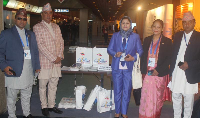सर्बियामा जारी आईपीयूको सम्मेलनमा नेपाल भ्रमण वर्षको प्रबद्र्धन
