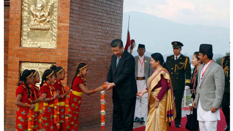 सुरु भयो चिनियाँ राष्ट्रपति सि को दुईदिने राजकिय भ्रमण