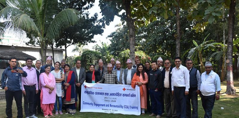 टीकापुरमा सामुदायिक संलग्नता तथा जवाफदेहिता सम्बन्धी प्रशिक्षण शुरु
