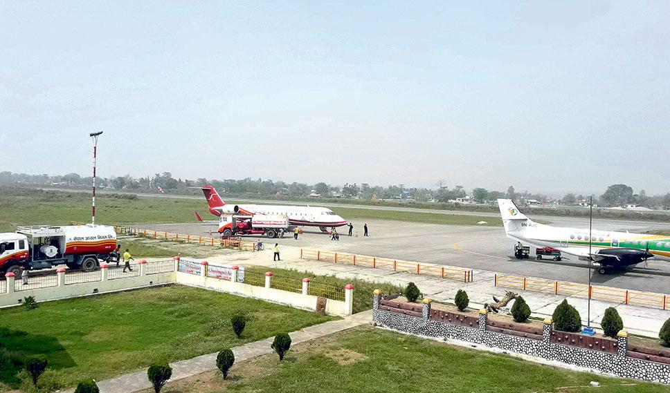 भद्रपुर विमानस्थलमा कोरोना सहायता कक्ष