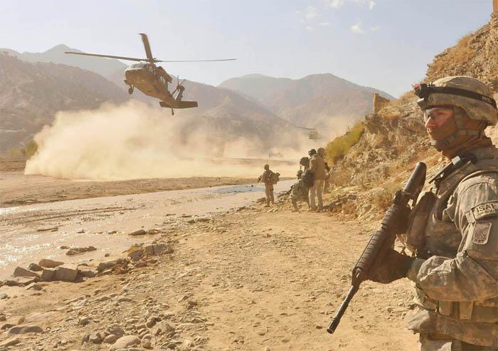 हवाई कारबाहीमा चौध तालिबान लडाकू मारिए