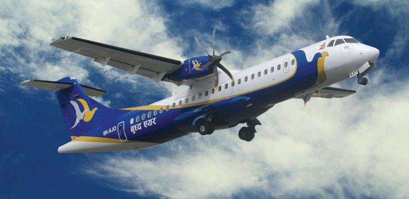 बुद्ध एयरले काठमाडौँ र पोखराका लागि उडान भर्ने
