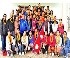 साग ह्याण्डबल टोली वैदेशिक प्रशिक्षणमा