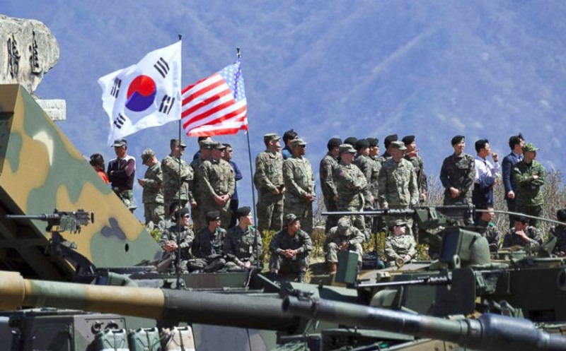 अमेरिकी, दक्षिण कोरियाली संयुक्त सैन्य अभ्यास स्थगित
