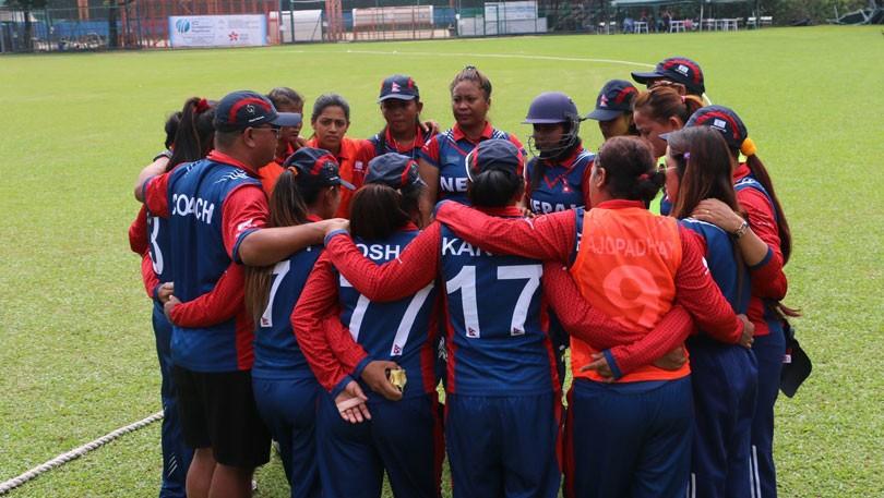 नेपाली महिला क्रिकेट टोली  बङ्गलादेशसँग १० विकेटले पराजित