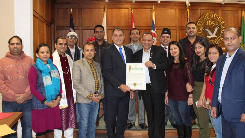 न्युयोर्कको स्थानीय सरकारले घोषणा गर्यो २२ डिसेम्बरलाई 'रक्तदाता अर्जुन मैनाली दिवस'