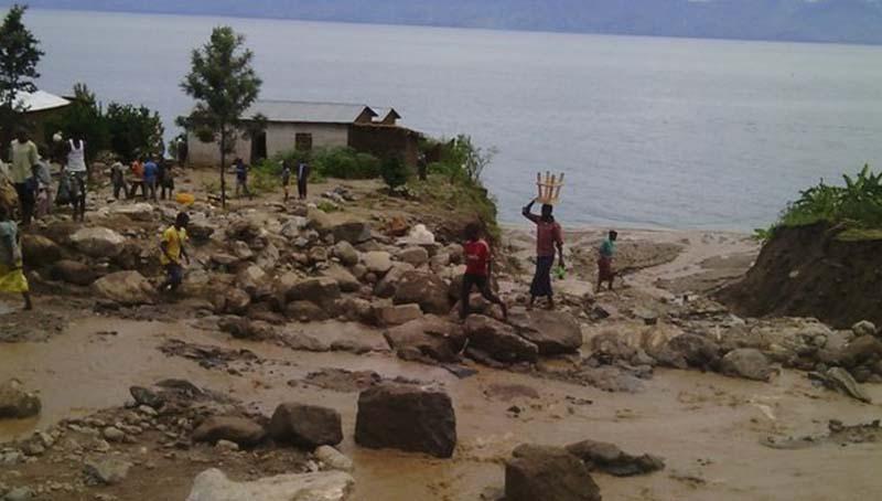 बुरुण्डीमा पहिरो जाँदा ३८ को मृत्यु