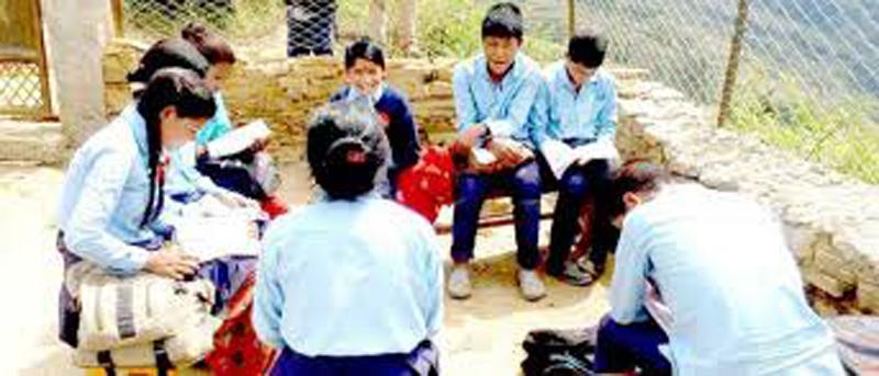 शैक्षिक सत्र खेर जान नदिने गरी गृहकार्य शुरु