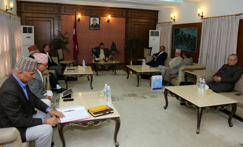 नेकपा सचिवालय बैठक स्थगित