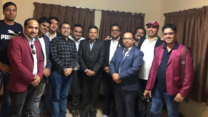 नेपाल पत्रकार महासंघ युएईको अध्यक्षमा लक्ष्मण खनाल