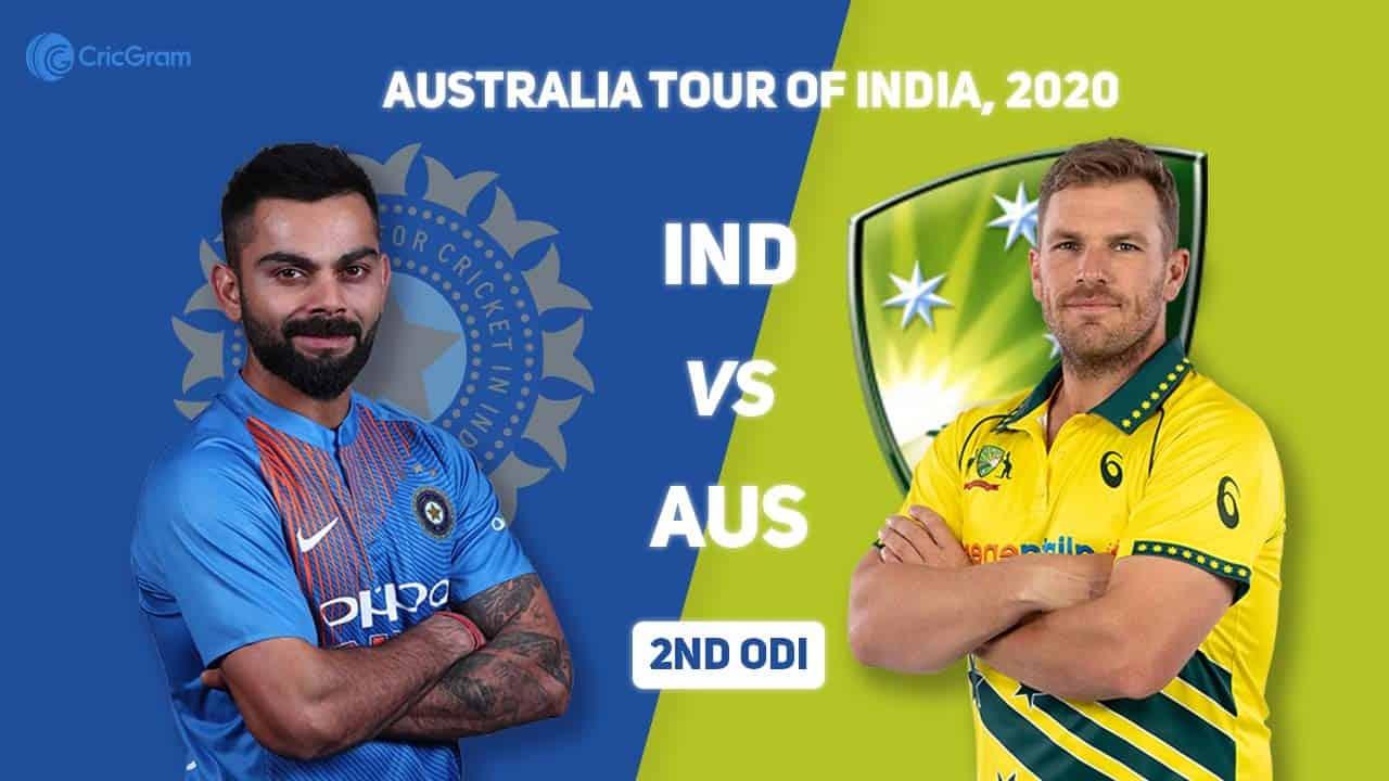 भारत र अष्ट्रेलिया बिचको दोस्रो ODI आज