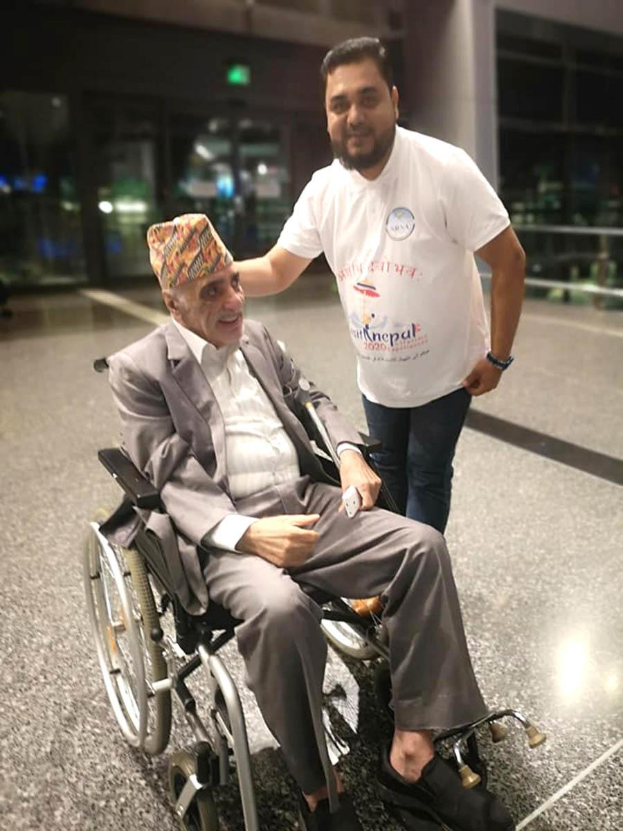 नेपालको पर्यटन प्रबद्र्धन गर्न नेपाल आए यी कतारी नागरिक