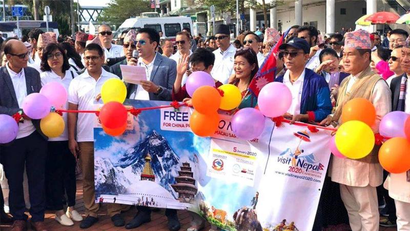 हङकङमा नेपाल भ्रमणवर्ष २०२० को भव्य उद्घाटन