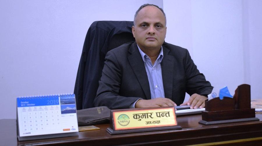 एनआरएनए अध्यक्ष कुमार पन्त भन्छन्–'१० अर्ब लगानी भित्राउने प्रक्रिया अघि बढिसक्यो'