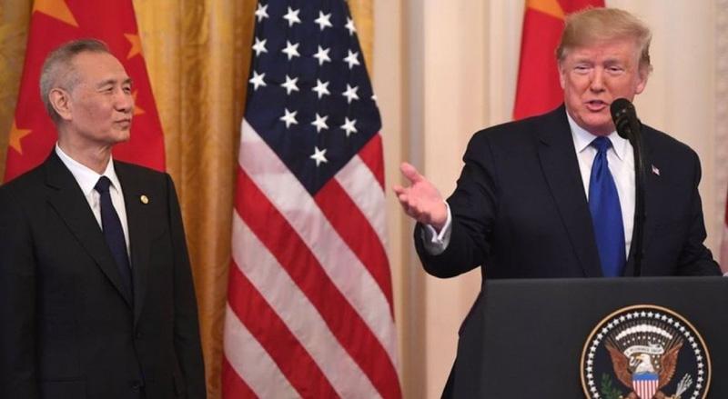 अमेरिका र चीनबीच व्यापार सम्झौता