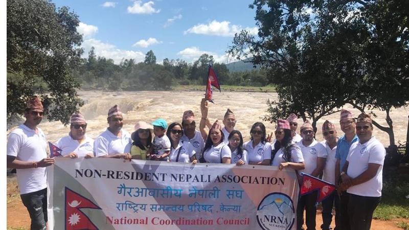 अफ्रिकी देश केन्यामा भिजिट नेपाल २०२० को प्रचारसँगै मनाइयो टोपी दिवस