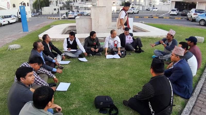 भ्रमण वर्ष २०२० सफल बनाउन जुटे ओमानमा रहेका नेपाली संघ-संस्था