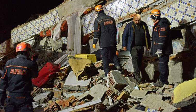 टर्कीमा ६.८ म्याग्नीच्युडको भूकम्प,१८ को मृत्यु, पाँचसय बढी घाइते