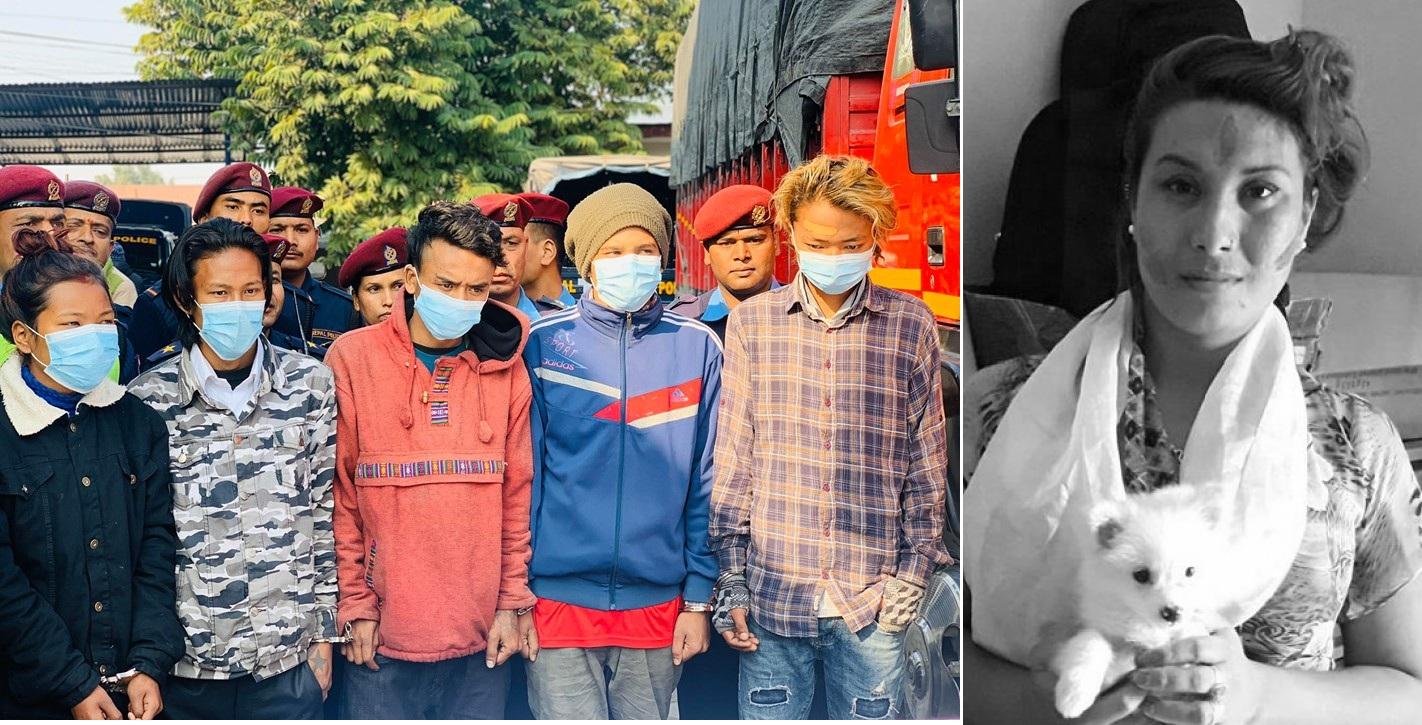 तेश्रोलिंङ्गी अजिता हत्या प्रकरणः ट्रकभित्र सामुहिक शारिरिक सम्पर्क, पैसामा विवाद भएपछि हत्या !