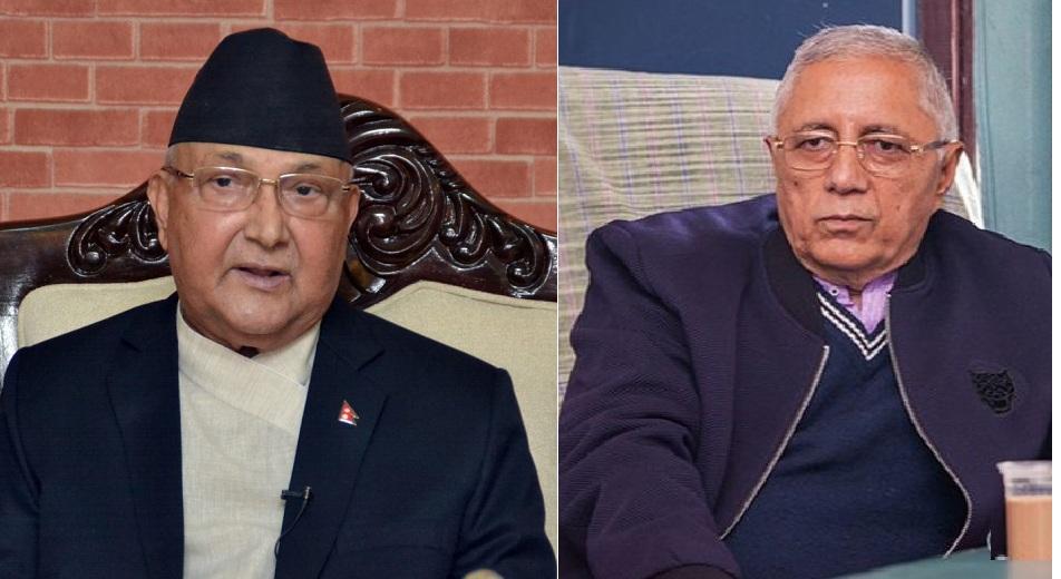 प्रधानमन्त्री ओलीलाई भेटेर राजीनामा दिन सुझाव दिए कांग्रेस नेता कोइरालाले