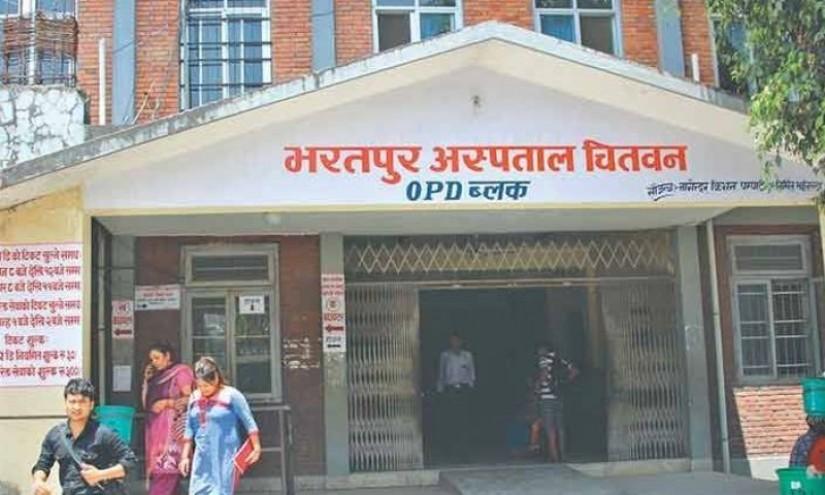 भरतपुर अस्पतालले थप्यो आइसोलेसन शैया, शंकास्पद एकको उपचार हुँदै