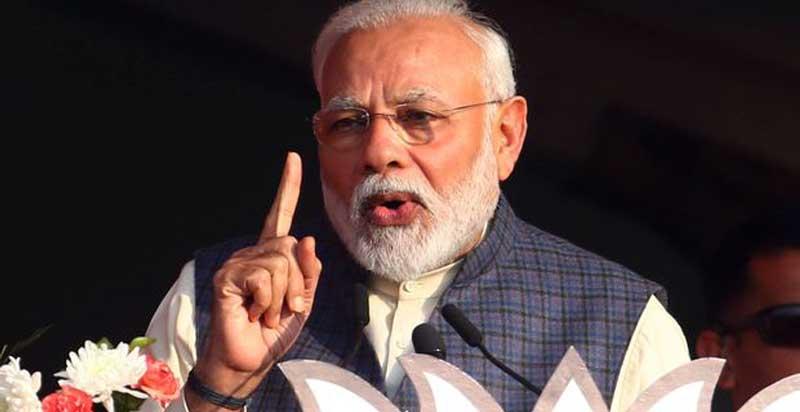 आज राति १२ बजेदेखि २१ दिनसम्म पूरै भारत 'लक डाउन' गर्ने  प्रधानमन्त्री मोदीको घोषणा