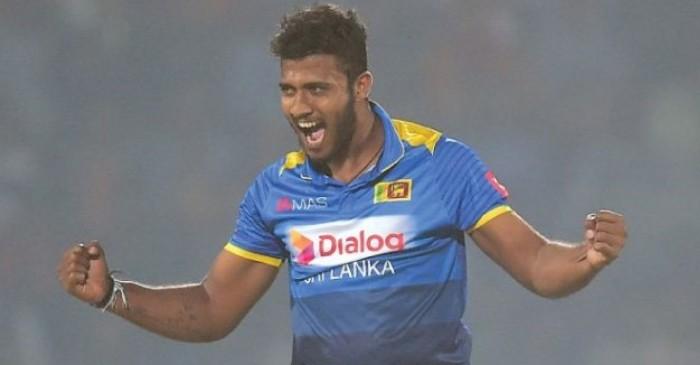 डेब्यु खेलमै ह्याट्रिक लिने श्रींलकाका खेलाडीलाई लगाइयो सबै खाले क्रिकेट खेलबाट प्रतिबन्ध