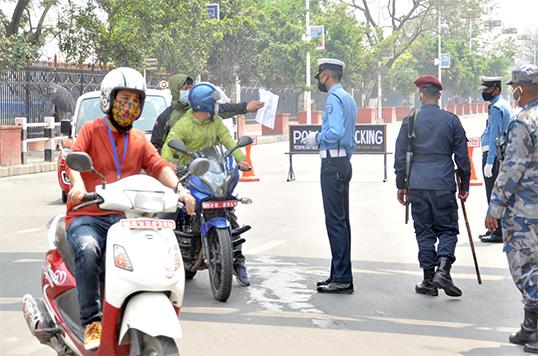 ललितपुरको महाँकाल गाउँपालिकामा जेठ १० सम्म दुई पाङ्ग्रे सवारीसाधन सञ्चालनमा रोक