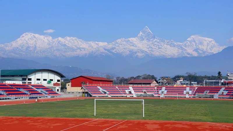 बन्दाबन्दीमै तयार भयो वैकल्पिक फुटबल मैदान