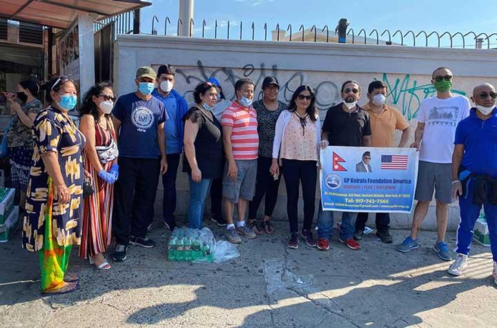 जिपी फाउण्डेसनले बाह्रौँ पटकमा टुङ्गायो निःशुल्क खाना वितरण कार्यक्रम