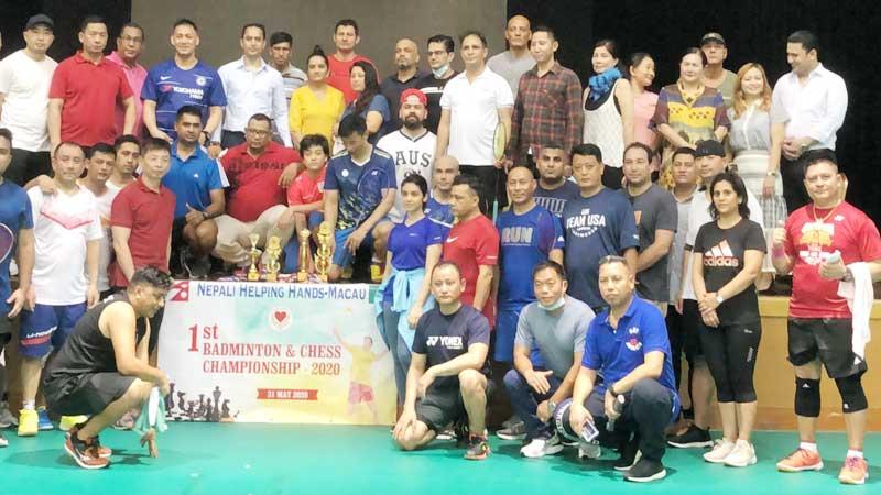 'नेपाली सहयोगी हातहरु' मकाउको आयोजनामा मकाउमा मैत्रिपूर्ण खेल सम्पन्न