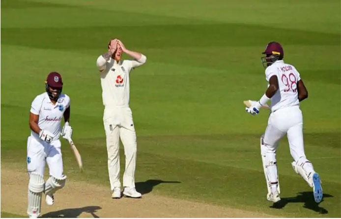 पहिलो टेस्टमा वेस्टइंडिज ४ विकेटले विजयी