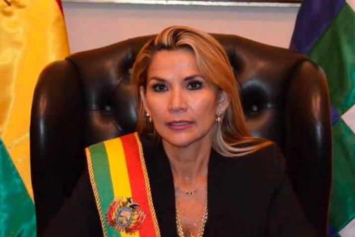 बोलिभियाकी राष्ट्रपति जीनिन अनेज कोरोना भाइरसबाट संक्रमित