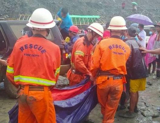 Myanmar jade mine landslide kills more than 160