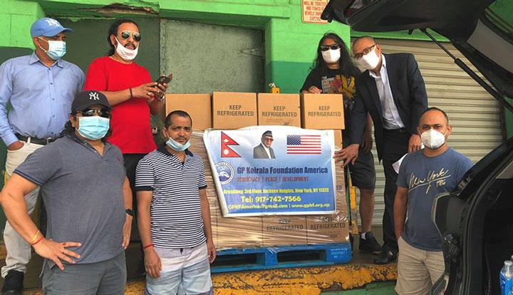जिपी फाउण्डेसनद्वारा सातौं पटक निःशुल्क शुद्व दूध वितरण