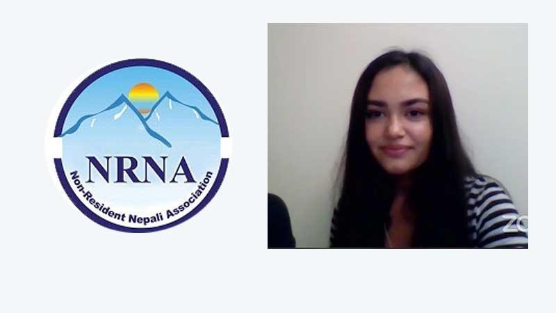 एनआरएनए यु-१९ ग्लोबल स्पीच प्रतियोगितामा म्यान्मारकी खतिवडा प्रथम